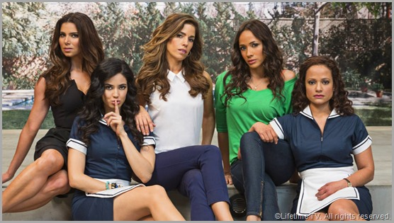 The cast of DEVIOUS MAIDS. CLICK to visit the official show site.