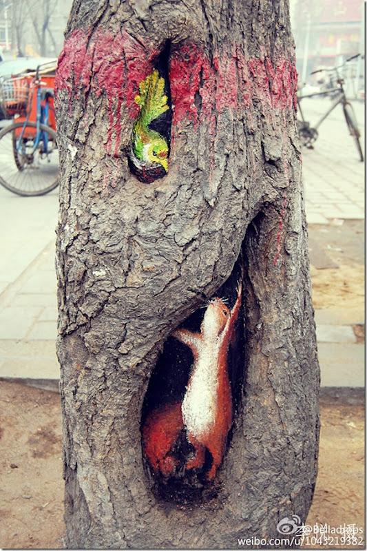 Arte nas árvores (3)