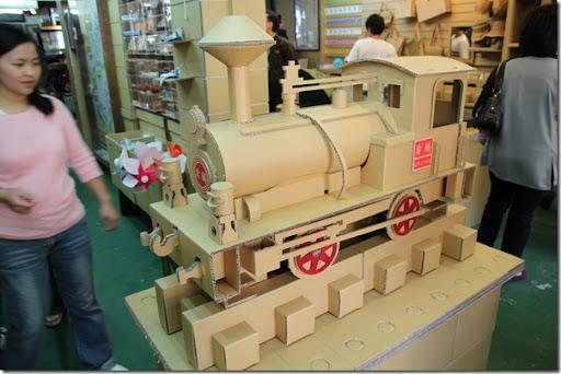菁桐鐵道文物館-紙箱王-火車模型