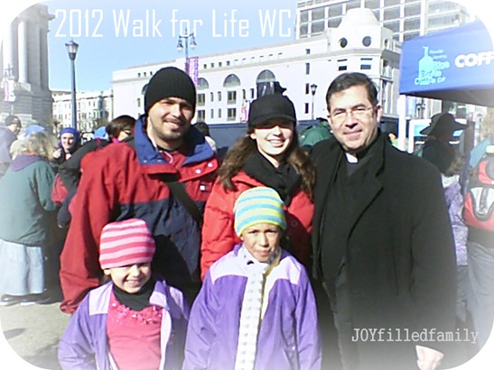 Walk for Life WC - Fr. Frank Provone