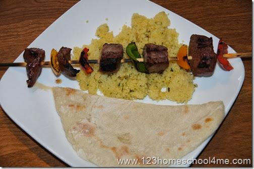 Aladdin Family Fun Night Food