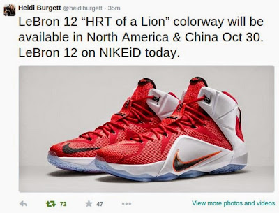 nike lebron 12 gr lion heart 6 01 Nike LeBron 12 Heart of a Lion Drops This Thursday After All!