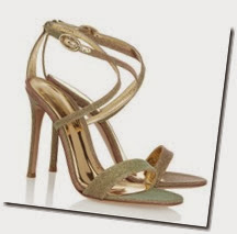Gianvinto Rossi Metallic Glitter Sandals