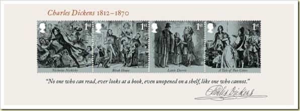 Dickens mini-sheet-