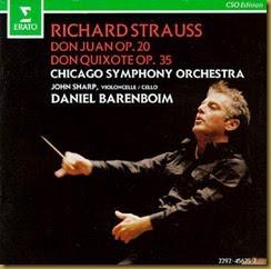 Strauss Quixote Barenboim Erato