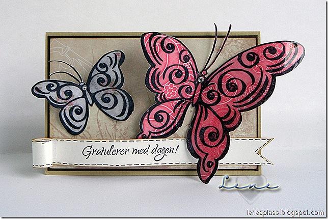 sommerfuglstempel