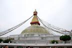 Le grand stupa de Bodhnath