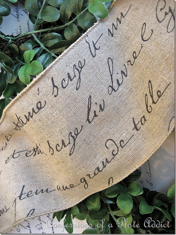 French Script Ribbon