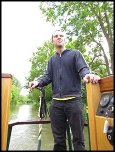 a neil at helm
