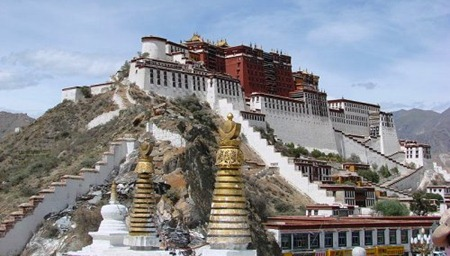 Potala Palace, Lhasa, Tibet