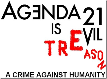 Agenda 21 - Crime Against Humanity