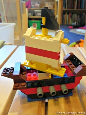 Pirate Lego Ship
