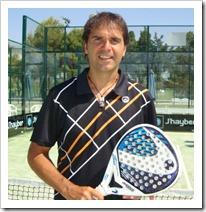 Curso de instructor de pádel impartido por Nito Brea en el Club MegaSport de Palma de Mallorca.