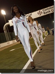 Paddock Girls Commercialbank Grand Prix of Qatar  08 April  2012 Losail Circuit  Qatar (11)