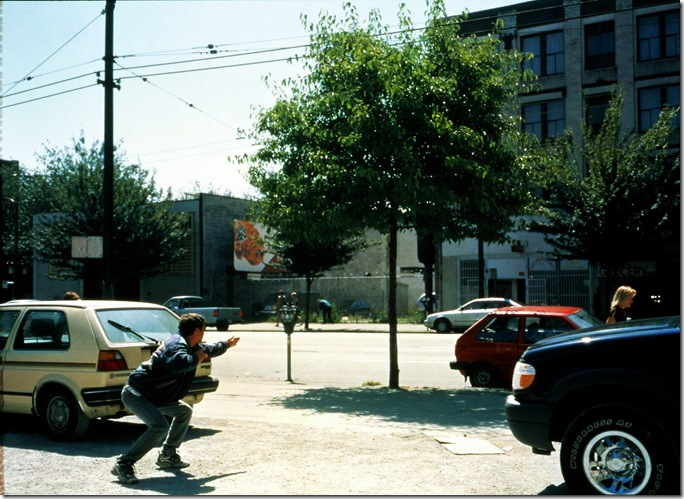 jeff wall_Man with a Rifle_2000