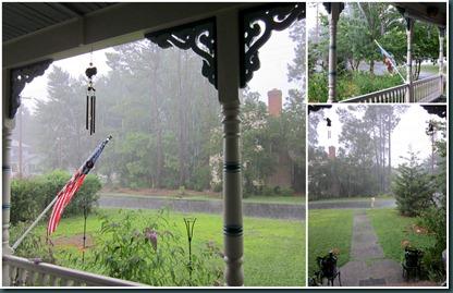 front yard rain0622