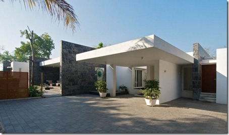 Exterior Dinesh Bungalow by atelier dnD6