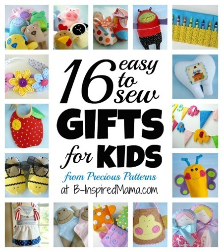 Precious Patterns Gifts for Kids Collage