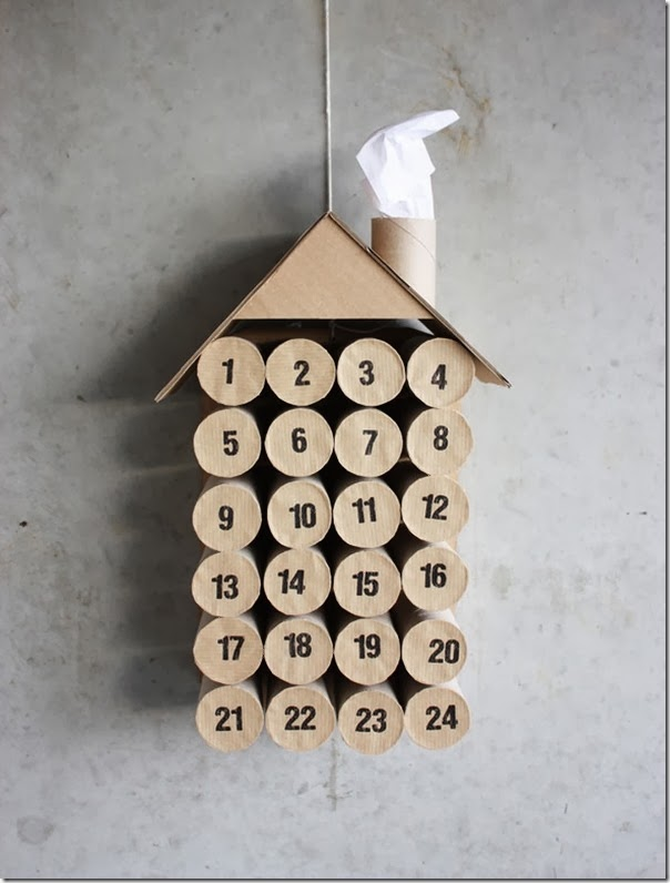 case e interni -DIY advent calendar - Natale calendario avvento (2)