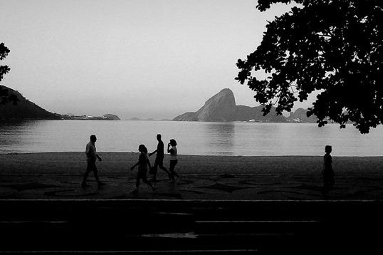 Vista do Rio da Orla de Niterói