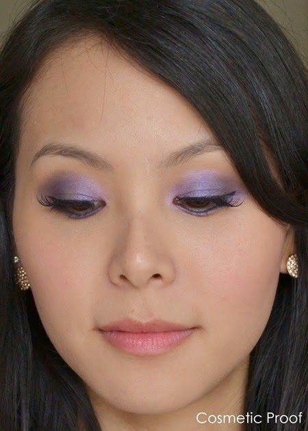Mary Kay Sapphire Noir Eye Color Palette Makeup Look (3)