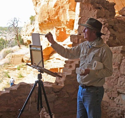 Chavez painting Mesa Verde