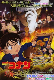 Conan Movie 19: Hoa Hướng Dương - Detective Conan Movie 19: Sunflowers Of Inferno Tập HD 1080p Full