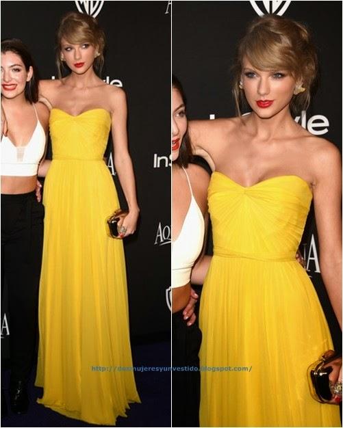 Taylor Swift InStyle Warner Bros Golden Globes