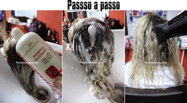 passo a passo progressiva magnific hair