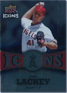 2009 Icons Lackey 22 of 999