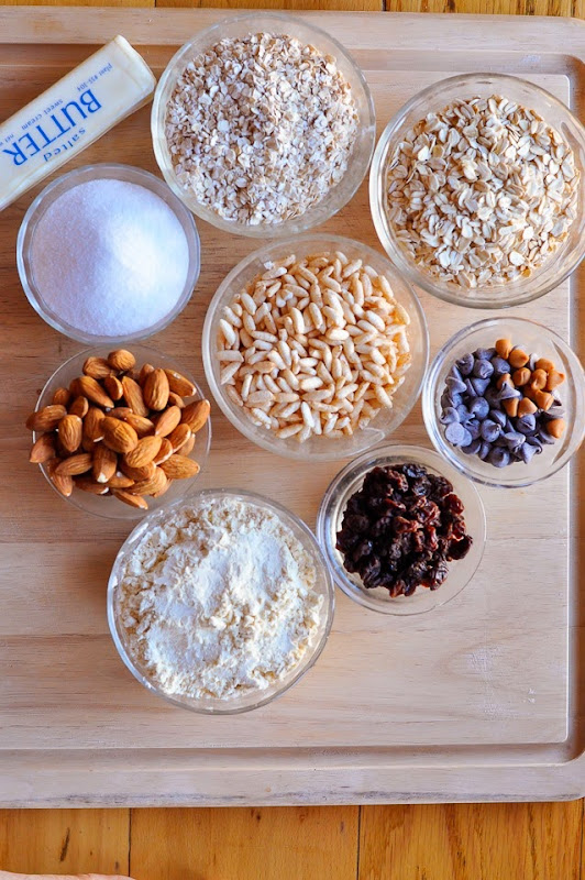 gluten free maple granola bars-1074