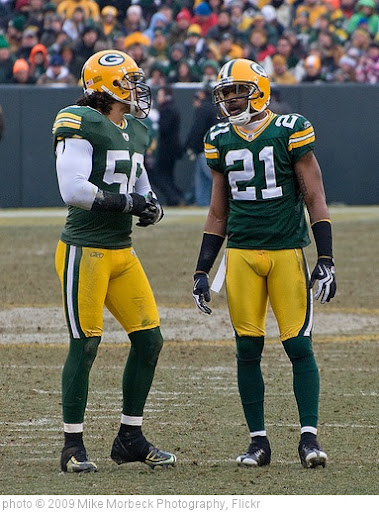 'Nick Barnett (56) and Charles Woodson (21)' photo (c) 2009, Mike Morbeck Photography - license: http://creativecommons.org/licenses/by-sa/2.0/