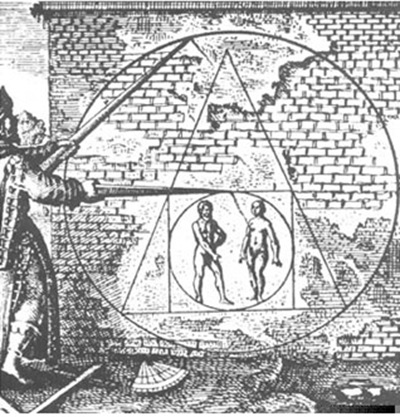 triângulo ponta pra cima - Priscila e Maxwell Palheta