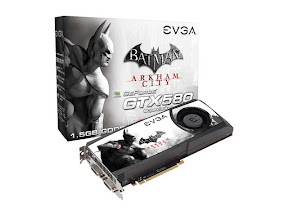 EVGA GeForce GTX 580 Batman