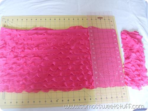 Sumo's Sweet Stuff - Ruffle Fabric Tunic