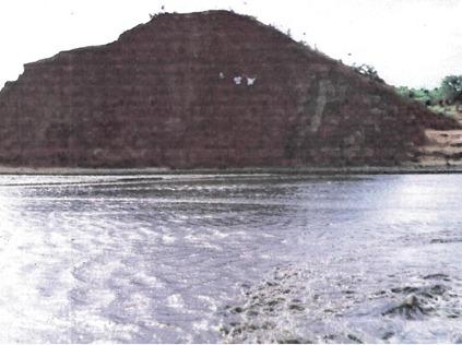 Parede do Açude Mãe D'Água arrombada em 1981