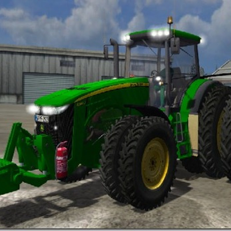 Farming simulator 2011 - John Deere 8360R Dual Row Crop