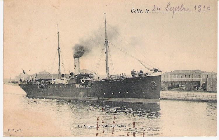 El VILLA DE SOLLER en Cette. Decada de 1900s. Colección Jaume Cifre Sanchez.jpg