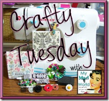 Crafty Tuesday 220 button