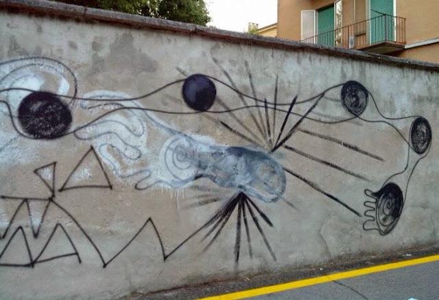 Verona, Italien Street Art