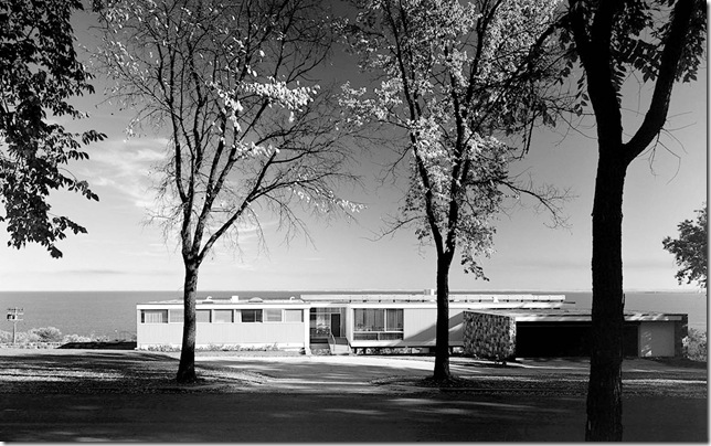 Ezra Stoller_Starkey House, Marcel Breuer, Duluth, MN, 1956