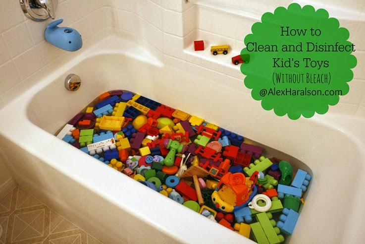 Safely Clean and Disinfect Kid's Toys 9-2