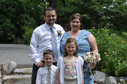 Corey, Jodi, Eli and Natalie.
