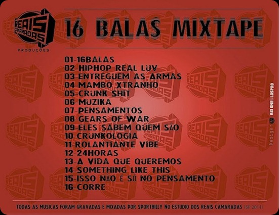 16BALAS TRACK LIST
