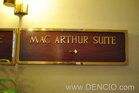 MacArthur Suite 01