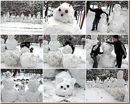 Снеговики наступают1