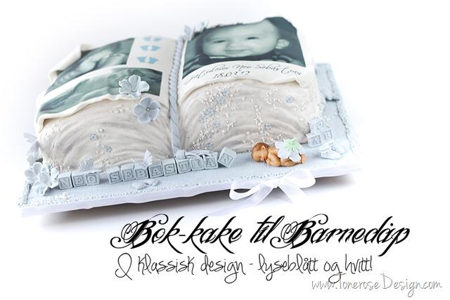 bok-kake lyseblå og hvit  barnedåp IMG_6478