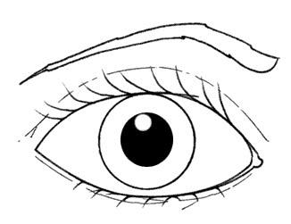 Dibujos para colorear ojos - Maneras de pintar los ojos ...