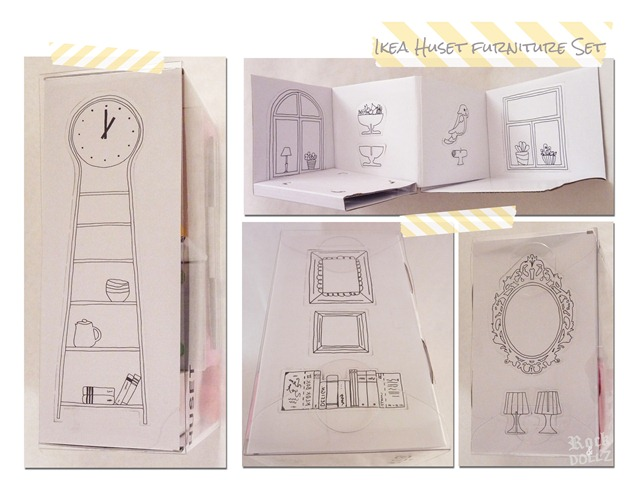 Muebles miniatura Huset Ikea 01