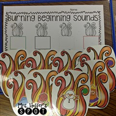And we are still working on beginning sounds. This is actually a center I will be using in small group